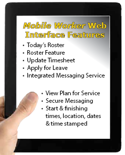 Mobile Worker Web Interface